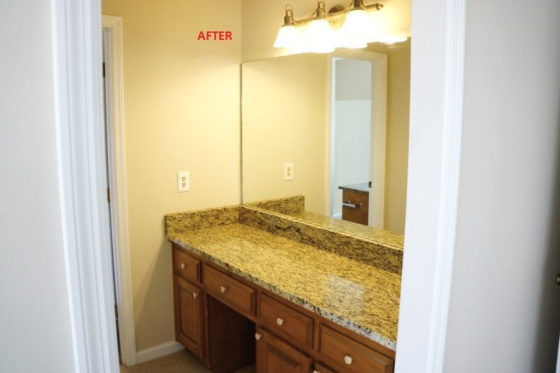 East Cobb Updated Granite Vanity