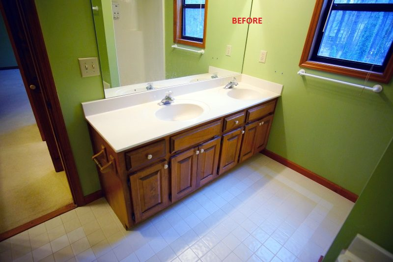 East Cobb Dated Master Bath
