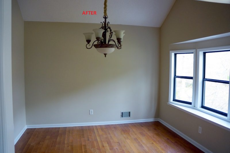 East Cobb Updated Dining Room