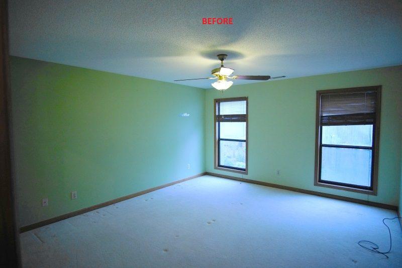 East Cobb Dated Bedroom